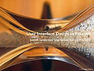 UI design in practice