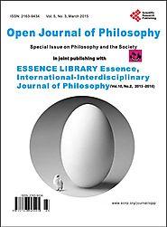 Open Journal of Philosophy
