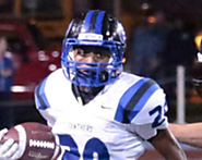23. Slot/CB Kaleb Franklin (South Medford) 5-10, 170