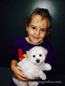 Little Girls and Puppies
