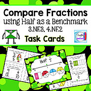 Compare Fractions Using Half as a Benchmark by Mercedes Hutchens