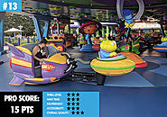 13. Alien Swirling Saucers
