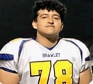 Daniel Caloca (Brawley) 6-4, 280