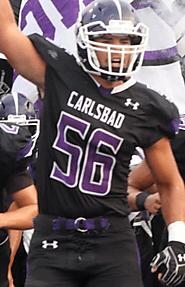 Zach Reyes (Carlsbad) 6-3, 220
