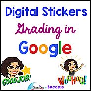 Digital Stickers: Grading in Google - Surfing to Success