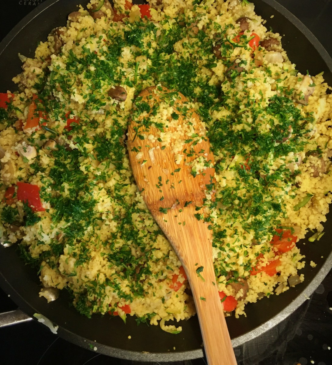 Veckans vegetariska: Couscouspytt