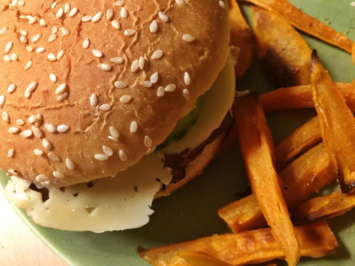 Veckans vegetariska: Majs- och bönburgare
