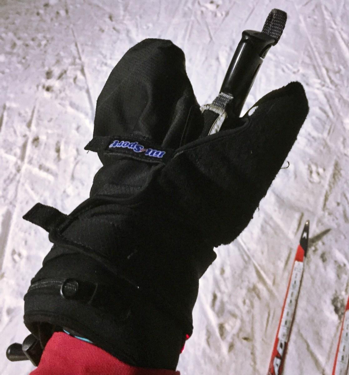 Om att kunna åka skidor med köldkänsliga fingrar
