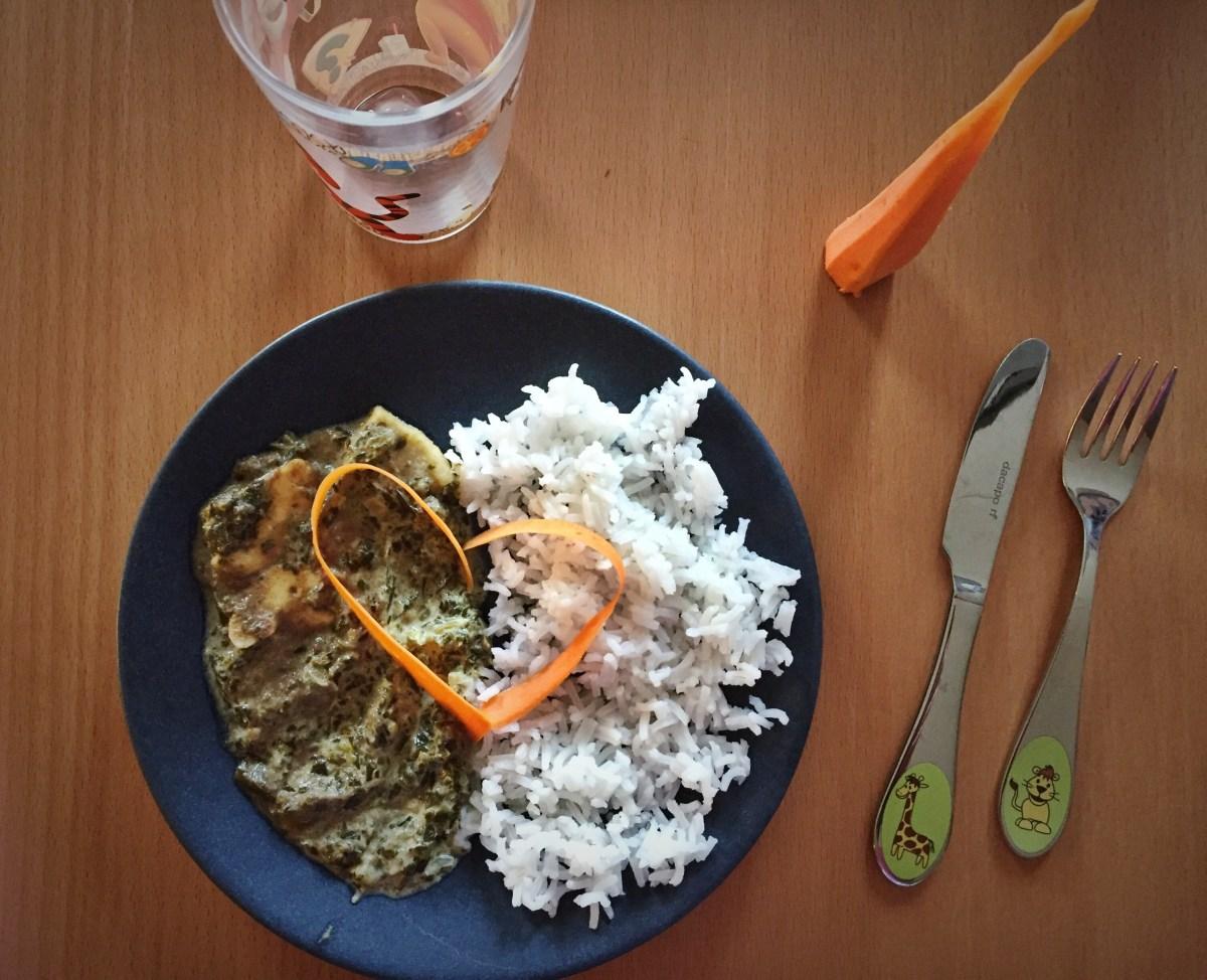 Veckans vegetariska: Halloumigratäng med spenat