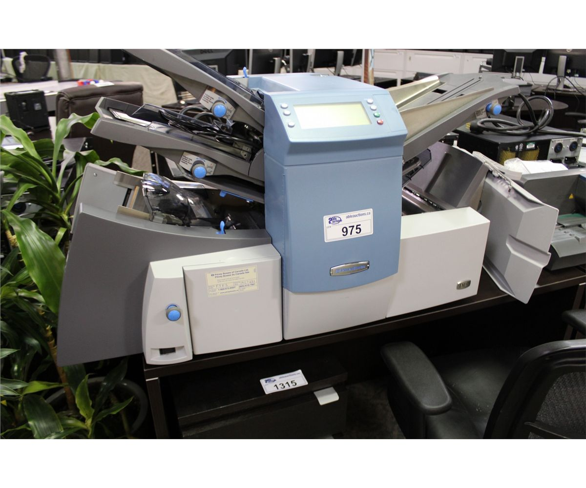PITNEY BOWES DI425 AUTOMATIC LETTER FOLDING AND ENVELOPE