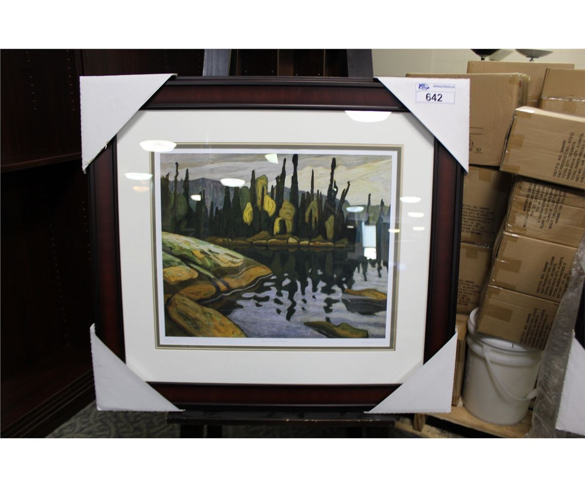 LAWREN HARRIS SHIMMERING WATER 102950 LIMITED EDITION PRINT