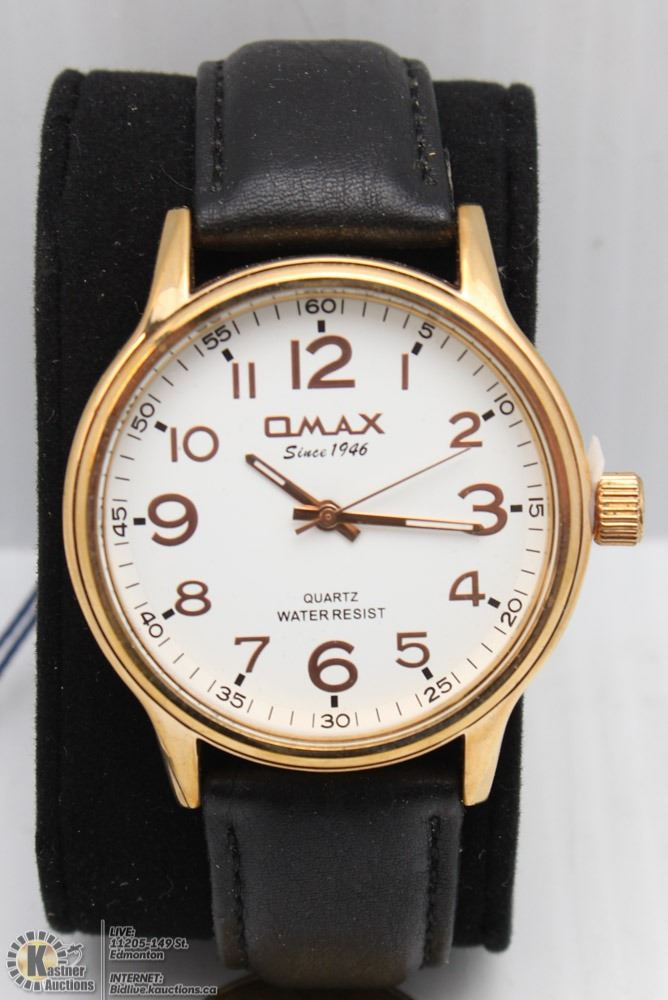 QMAX MENS QUARTZ WATCH - Kastner Auctions