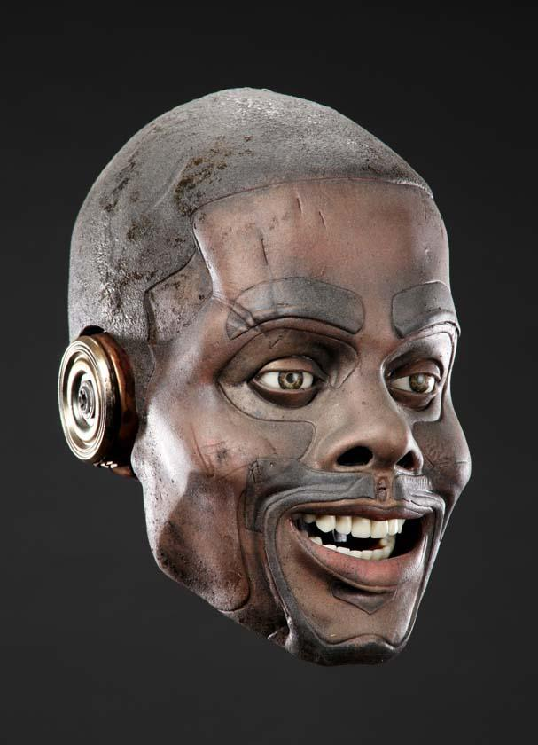 """Chris Rock """"Comedian"""" animatronic robot head from A.I ..."""