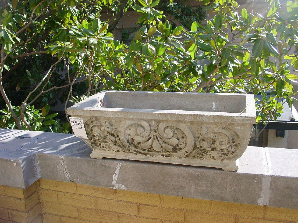 Cement Planter Box