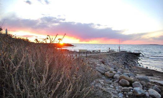 solnedgång i kåsa