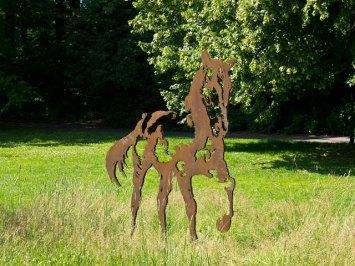 Häst i Slottsskogen