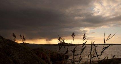 vass i solnedgången, saltholmen