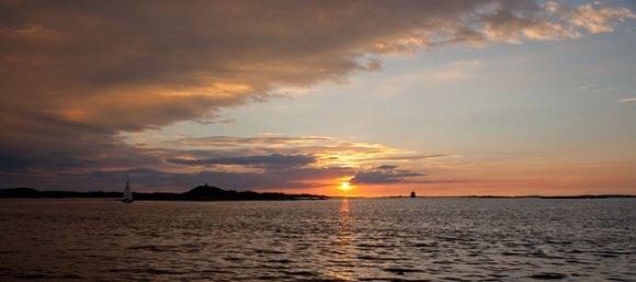 solnedgång saltholmen
