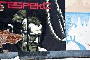 Graffiti Väggmålning Göteborg respect