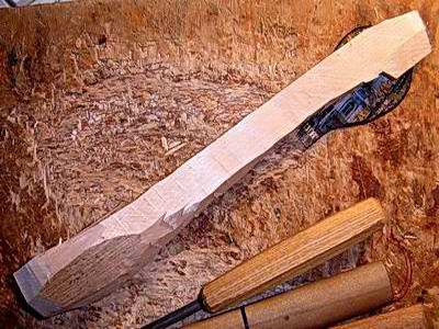 Баклуша - деревянная заготовка