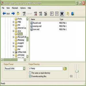 how to create a midi file from mp3