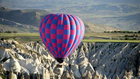Balloon ride, Cappadocia
