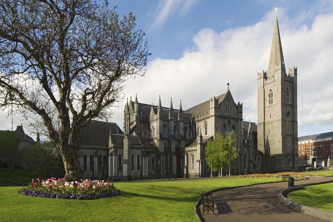 Saint Patrick's Cathedral and Park.