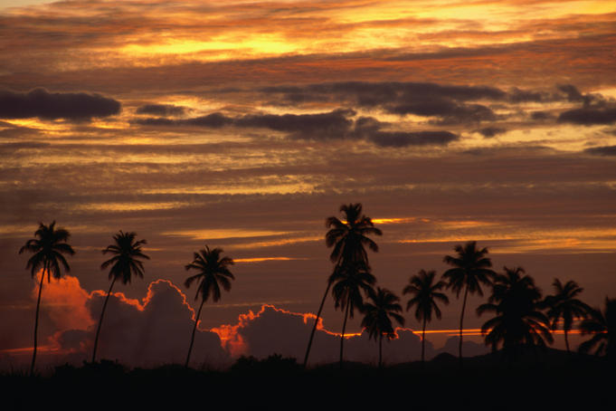 Sunrise over La Parguera