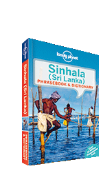Sinhala phrasebook, 4th Edition Jul 2014 by Lonely Planet