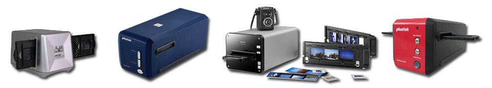 Plustek OpticFilm 8200i Ai, 8200i SE, 8100, 120 - filmskanner för negativ och dia