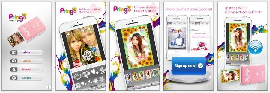 HiTi Pringo app