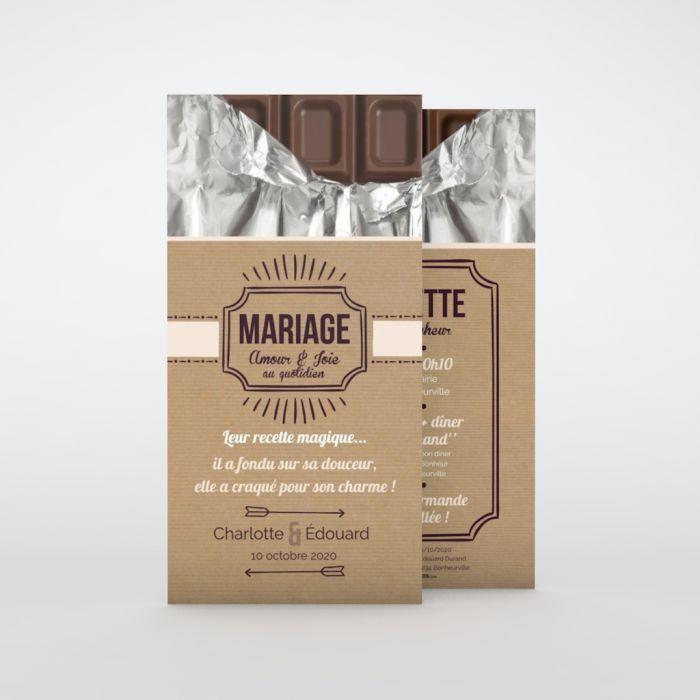 faire part de mariage original a