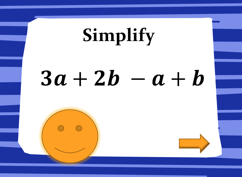 Algebra Combining Like Terms