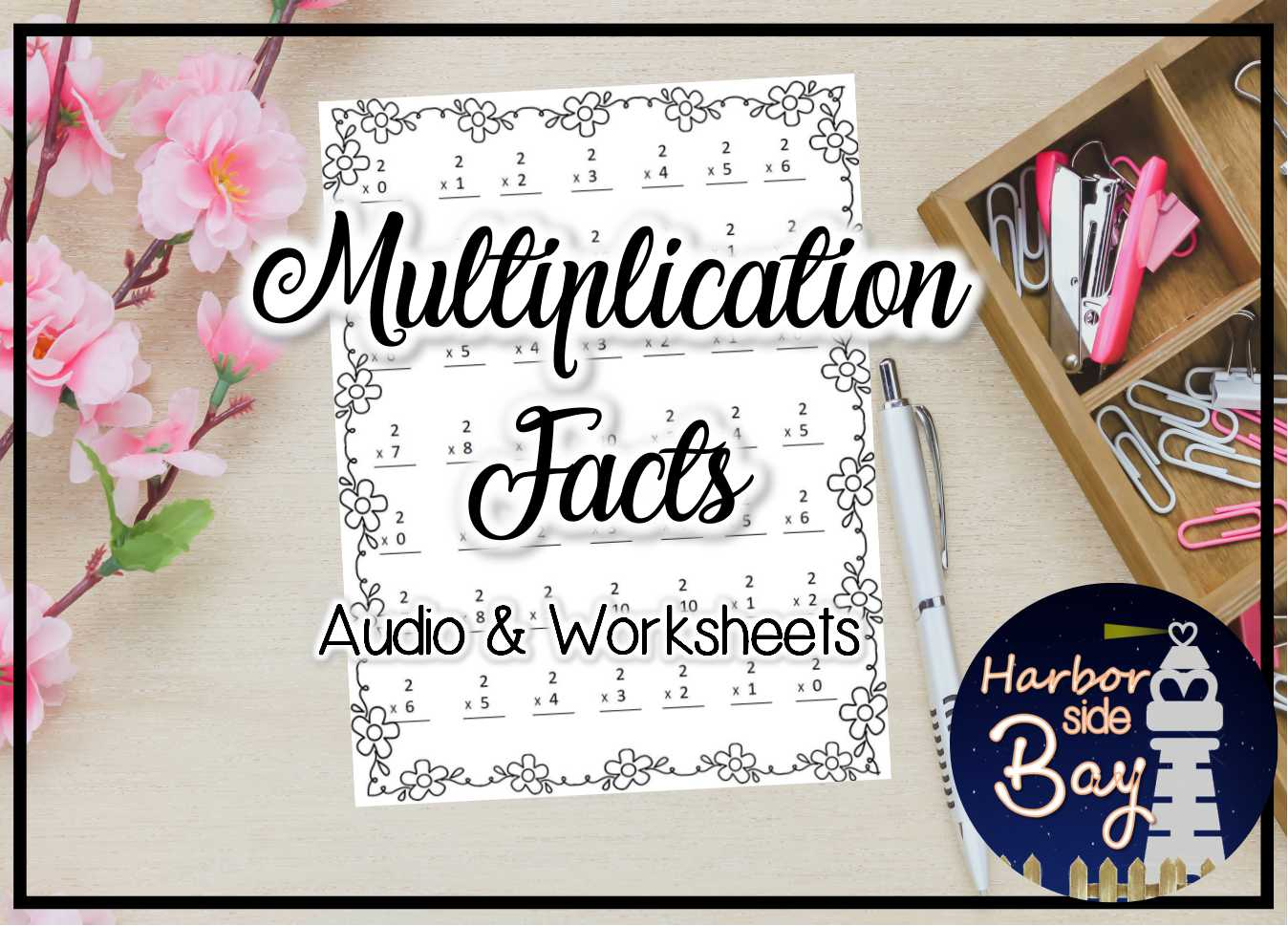 Multiplication Tables Audio With Worksheets