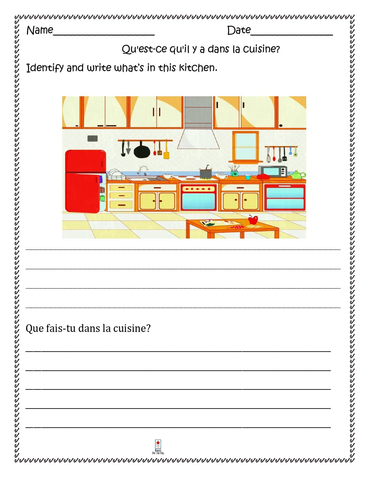 Dans La Cuisine French Kitchen Distance Learning