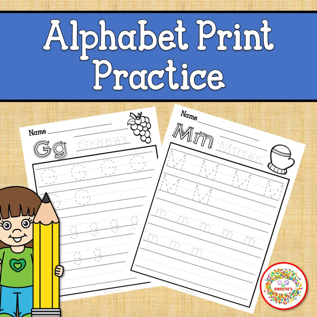 Print Alphabet Tracing Worksheets