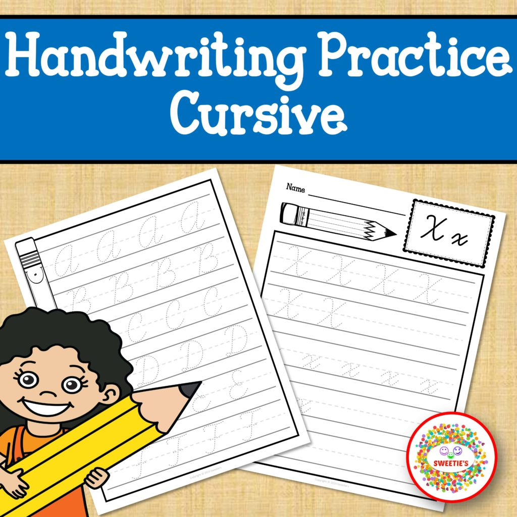 Cursive Handwriting Practice Worksheets