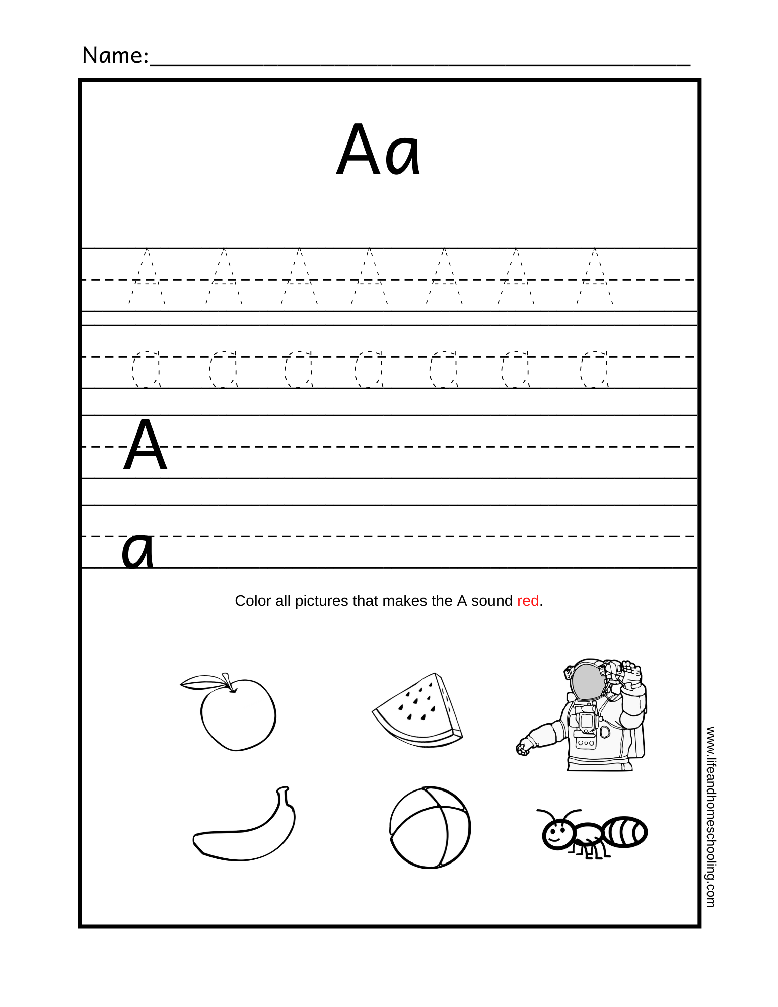 Nouns Kindergarten Worksheets