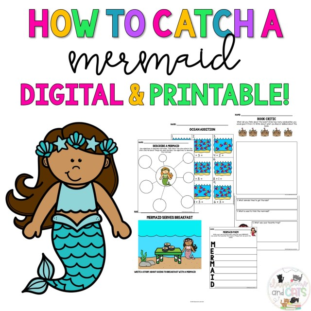 How to Catch a Mermaid Activities