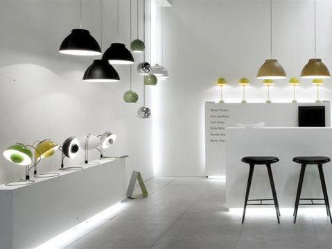 Lampe De Table FlowerPot VP4 H 36 Cm By Verner Panton