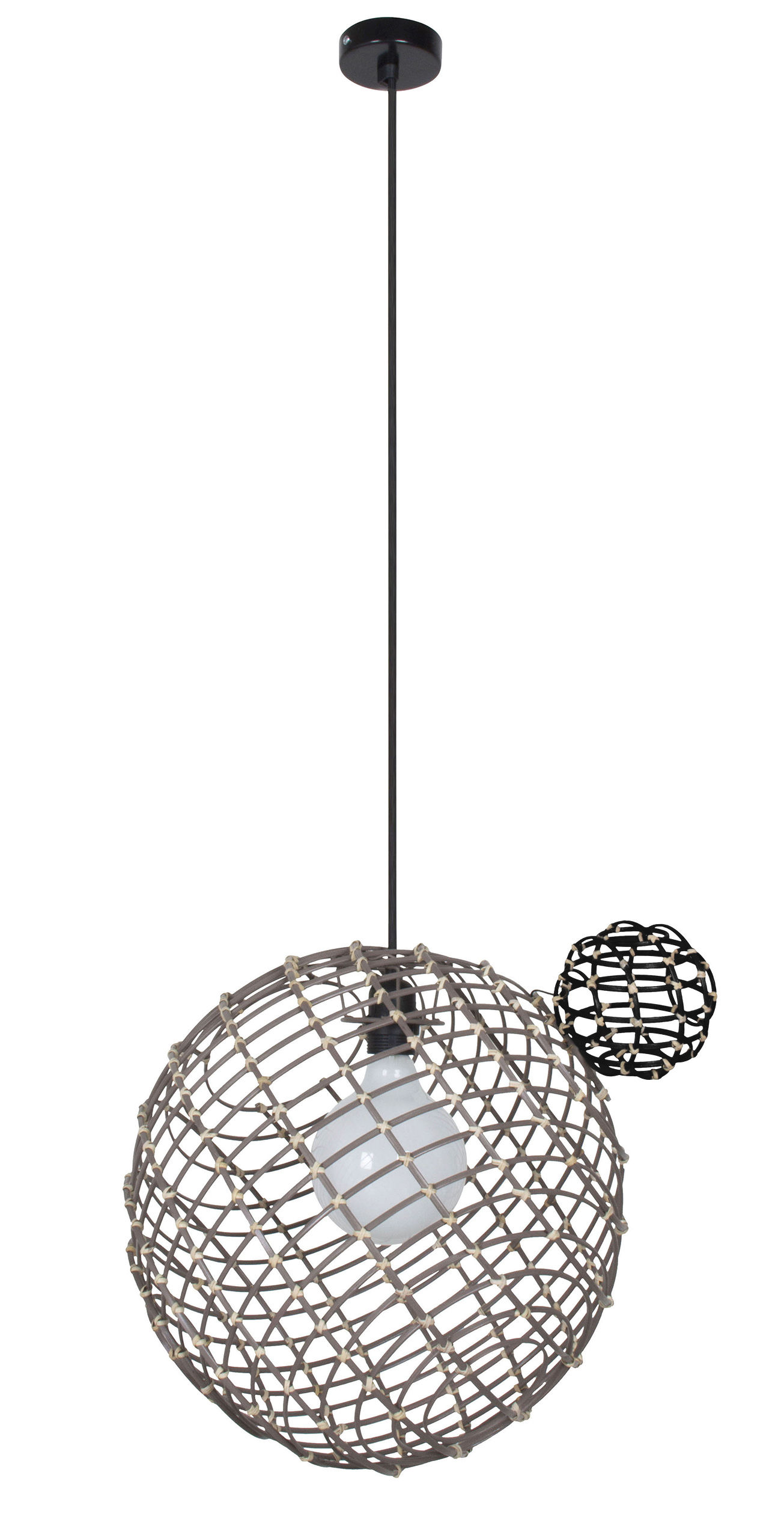 Suspension Sphere Large Bambou