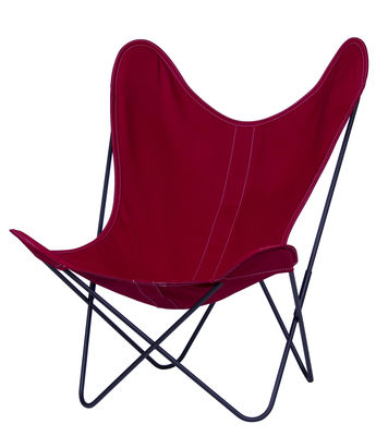 Fauteuil AA Butterfly Toile Structure Noire Structure