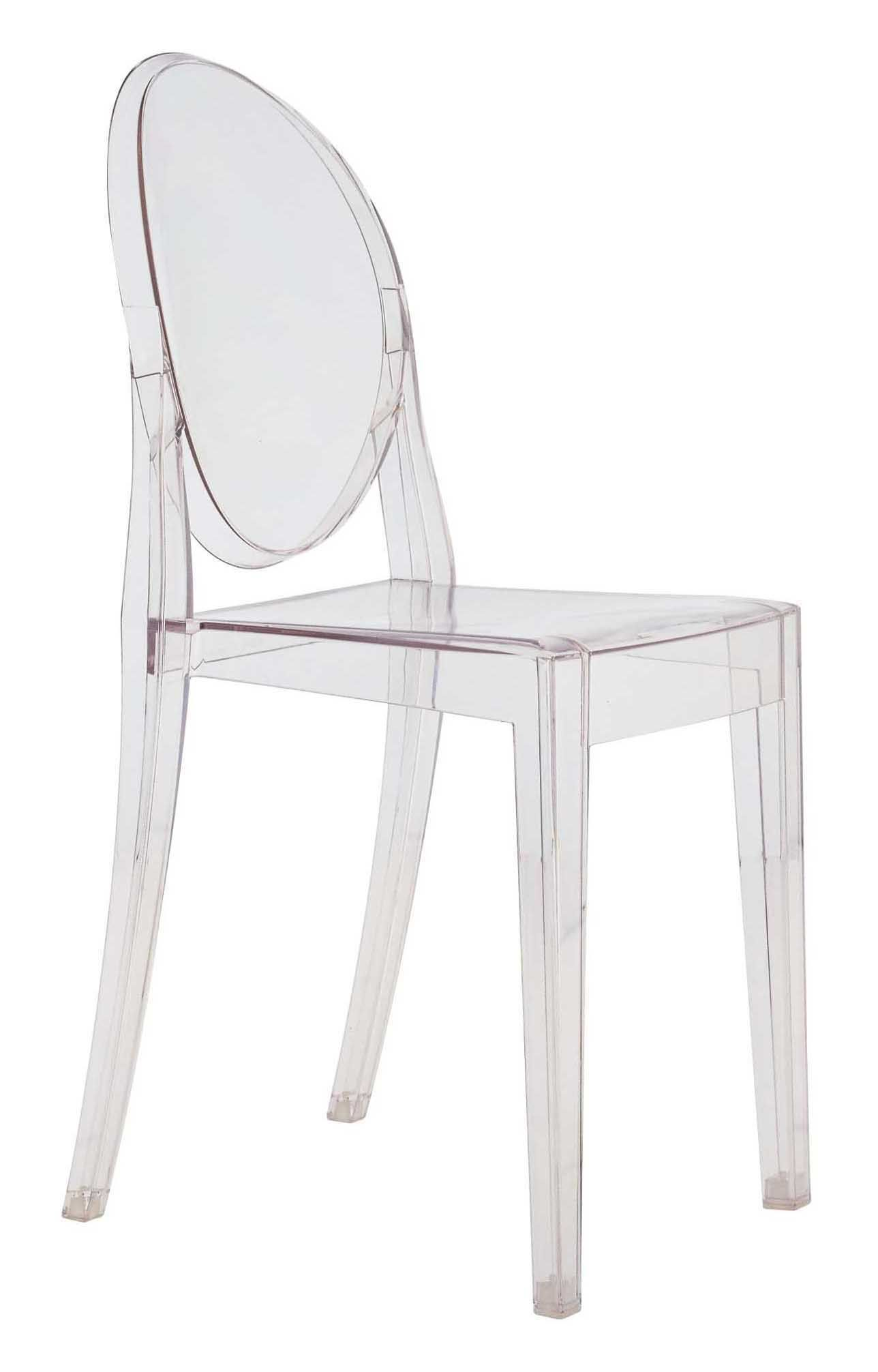 Chaise Empilable Victoria Ghost Transparente