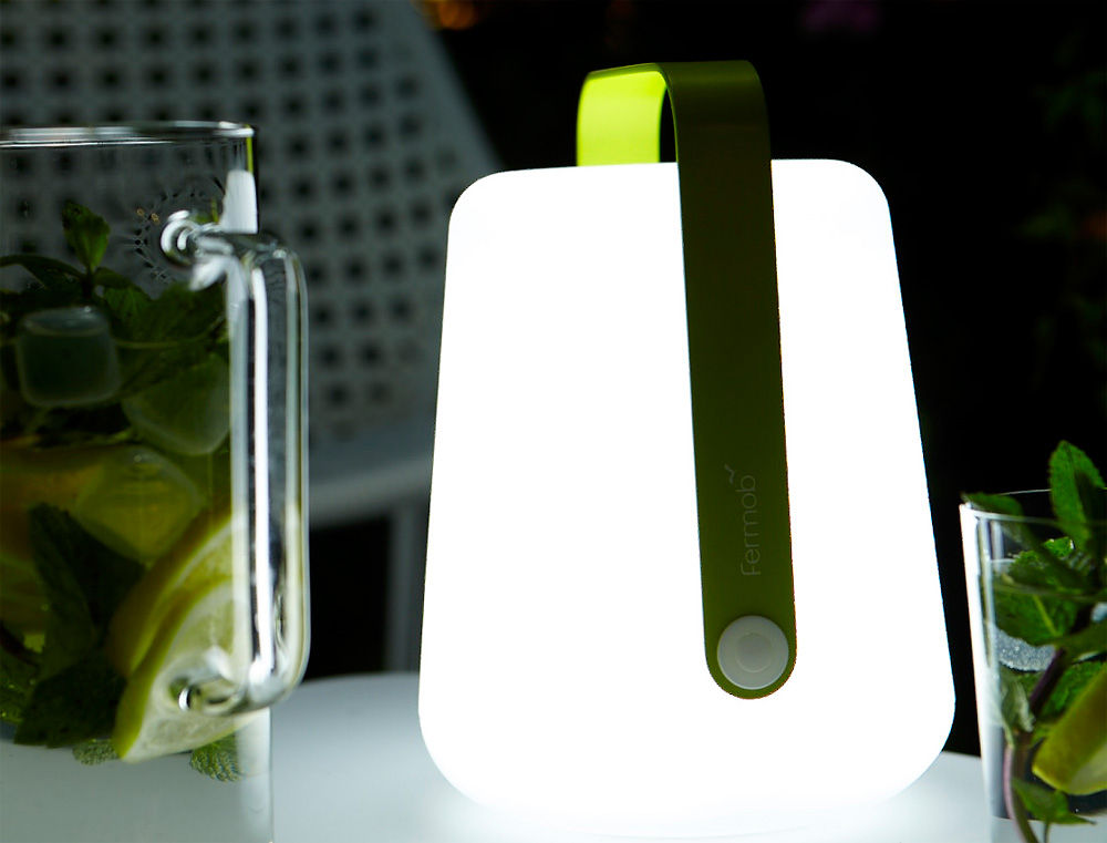 Lampe Sans Fil Balad LED H 25 Cm Recharge USB Muscade