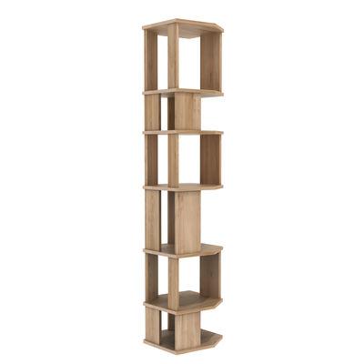 bibliotheque stairs colonne chene massif l 46 cm x h 204 cm ethnicraft