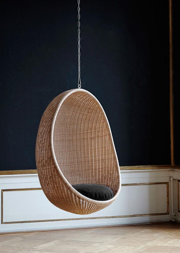 fauteuil suspendu œuf reedition 1959 sika design