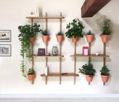 support mural xpot pour 4 pots de fleurs ou etageres h 200 cm compagnie