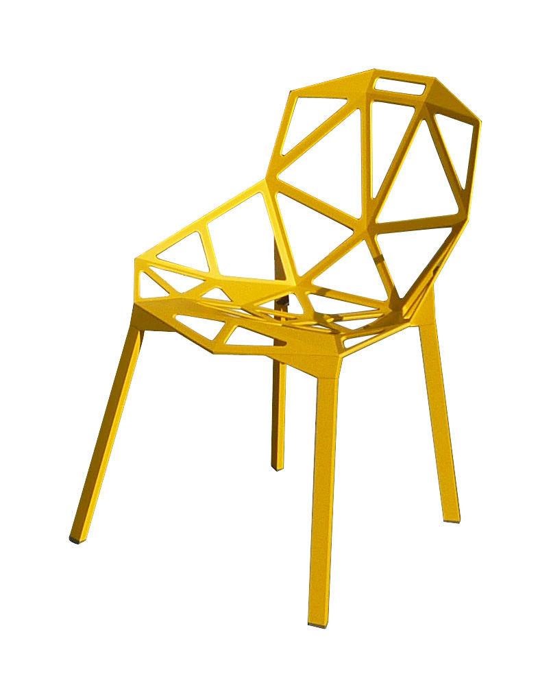 mobilier chaises fauteuils de salle a manger chaise empilable chair one metal