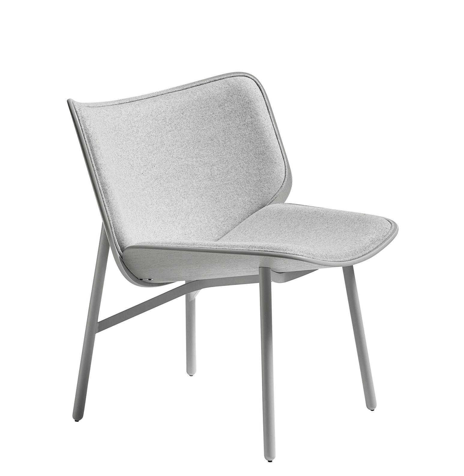 mobilier fauteuils fauteuil rembourre dapper tissu hay gris acier laque