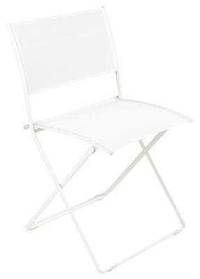 chaise pliante plein air toile fermob